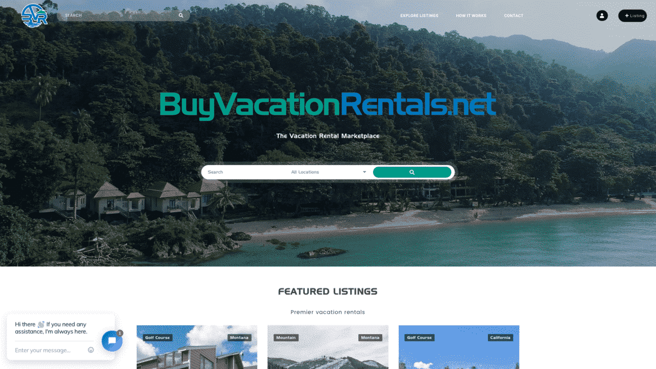 Buy Vacation Rentals