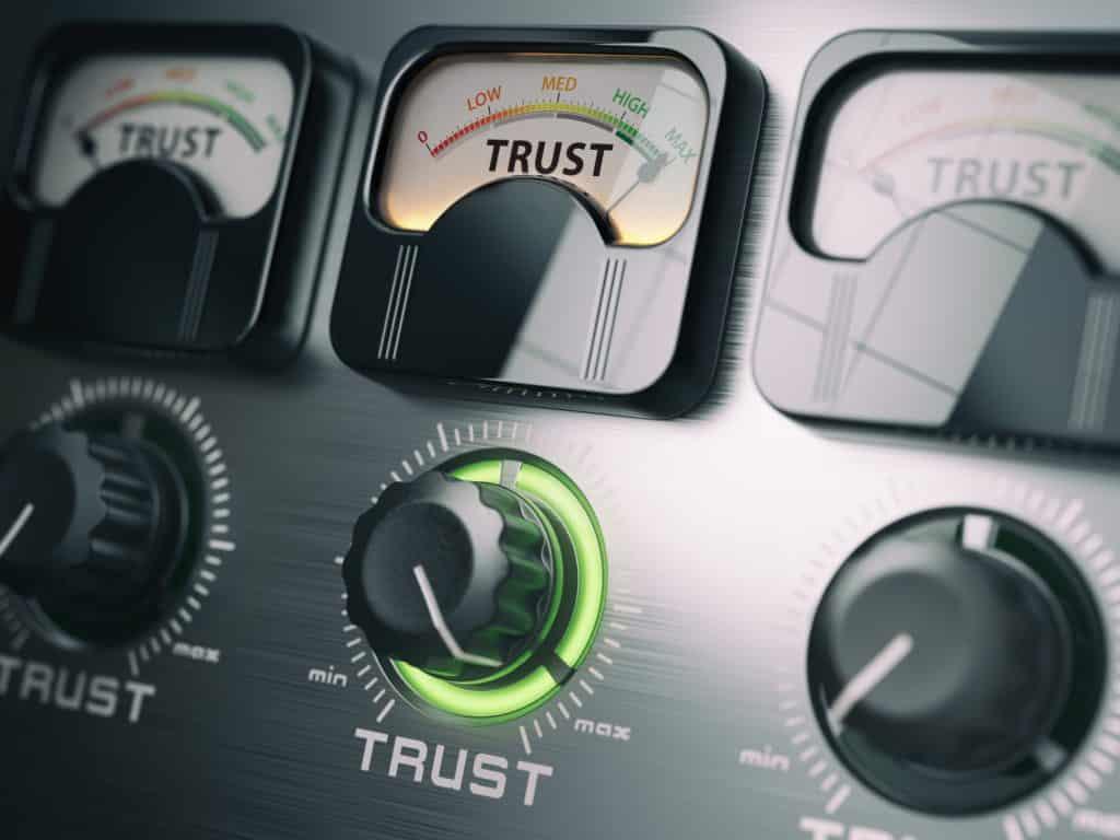 Backlinks build trust