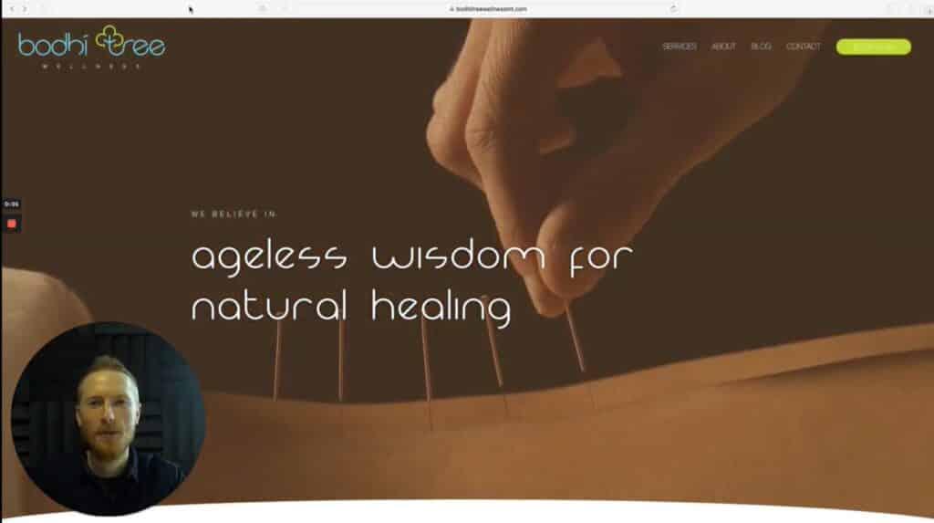 WebdesignWednesday feat. Bodhi Tree Wellness - WordPress Websites in Bozeman