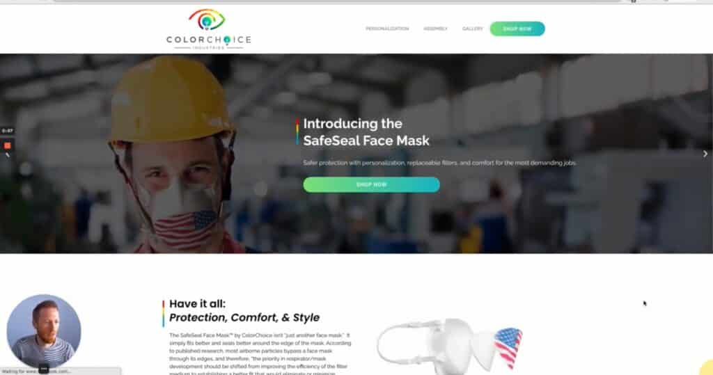 WebdesignWednesday feat. ColorChoice Industries - Wordpress Websites in Bozeman